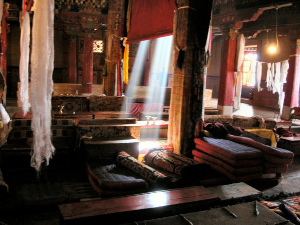 Drepung Monastery - the Dalai Llama's home monastery
