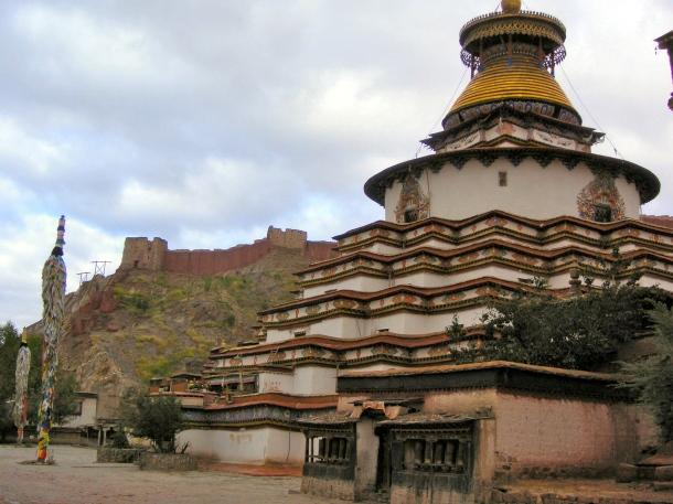 Kumbum Stupa - Tibet