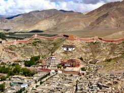 Gyantse ancient city, Tibet