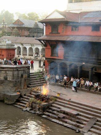 Pashupati Nath sacred cremation - Nepal