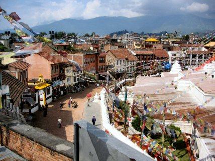 Boudh Nath stupa - Nepal