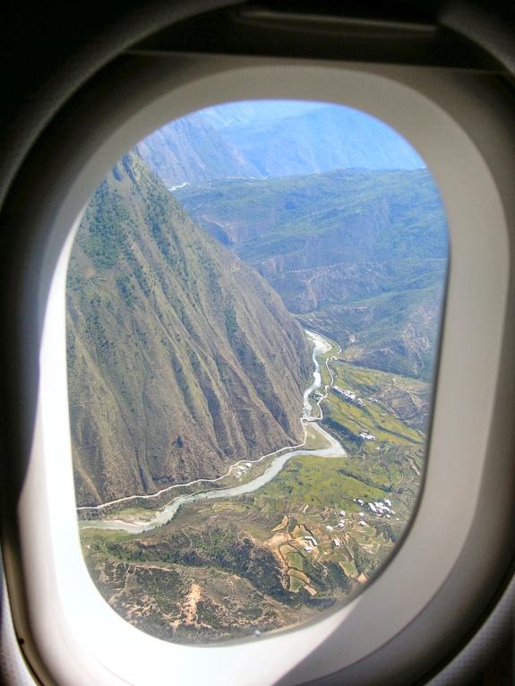 Leaving Bhutan
