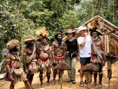 Huli wigmen tribe