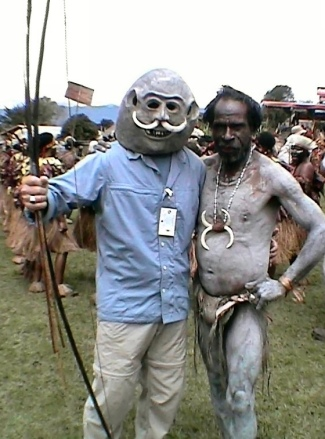 Bob joins the Mudman tribe