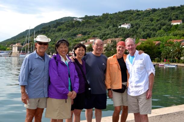 (66) June 16 - The Crew in Sipanska Luka