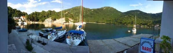 """""""Margot"""" at Okuklje Bay"""