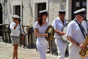 June 14 - Captain Bob following the band