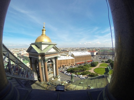 From the top of St. Isaac's Cathedral