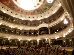 At the Bolshoi Ballet