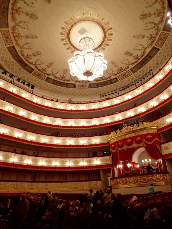 At the St. Petersburg Ballet