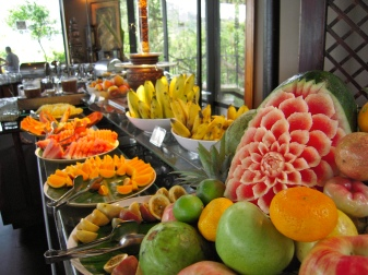 Amazing tropical fruits.