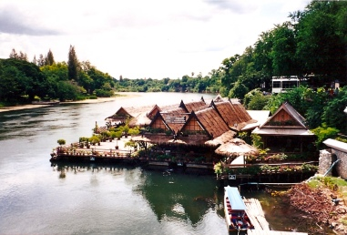 River Kwai-from the Bridge, Thailand
