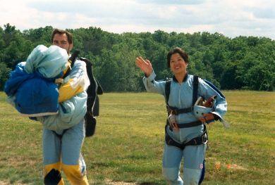 Diana-Skydiving-Jun 1997
