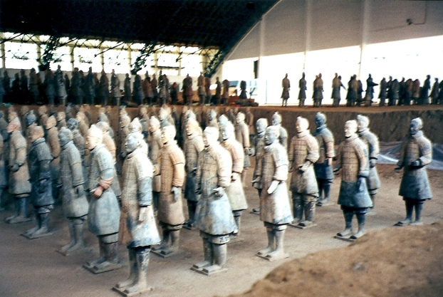 Terra Cotta soldiers - Xiang, China