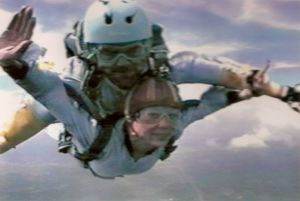 Diana skydiving