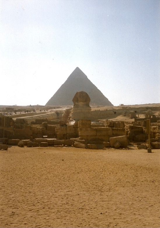 The Great Pyramid & Sphinx
