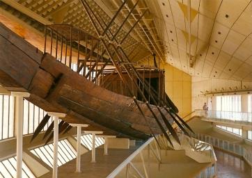 The Sun Boat at Giza