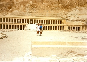 At the Valley of the Kings