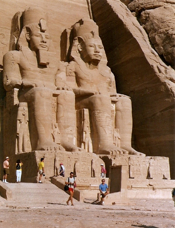 At Abu Simbel