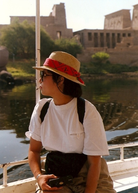 On a short Nile cruise