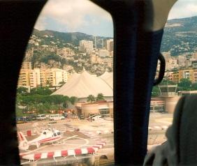 Arriving Monaco