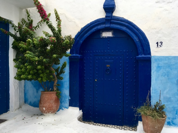 Rabat Kasbah door