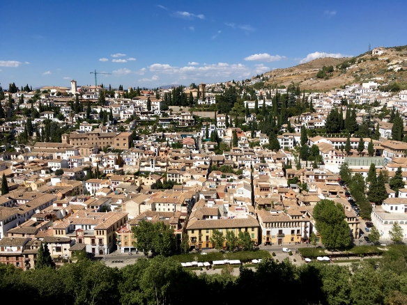 Granada - view from Alhambra