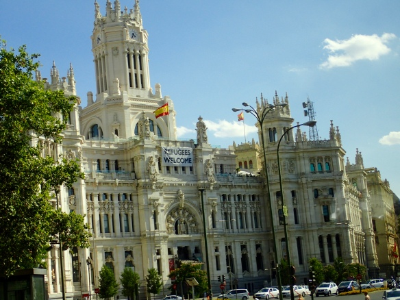 Madrid City Hall - Plaza de Cibeles