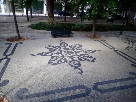Lisbon's beautiful mosaic sidewalks