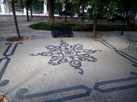 Lisbon's beautiful mosaic sidewalks