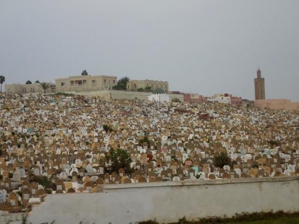 Cemetery - Rabat, Morocco