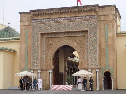 Royal palace - Rabat
