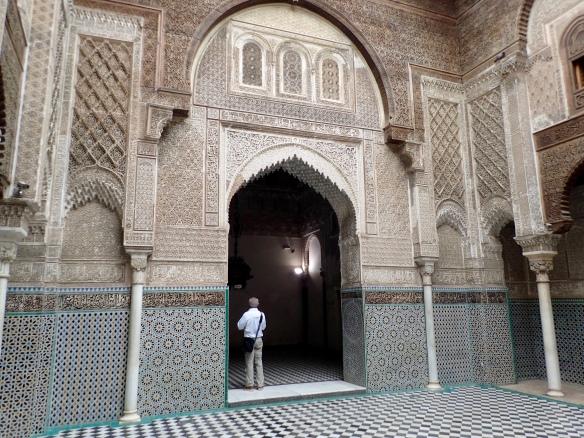 Fes medina - madrasa