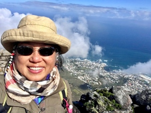 Cape Town from atop Table Mountain