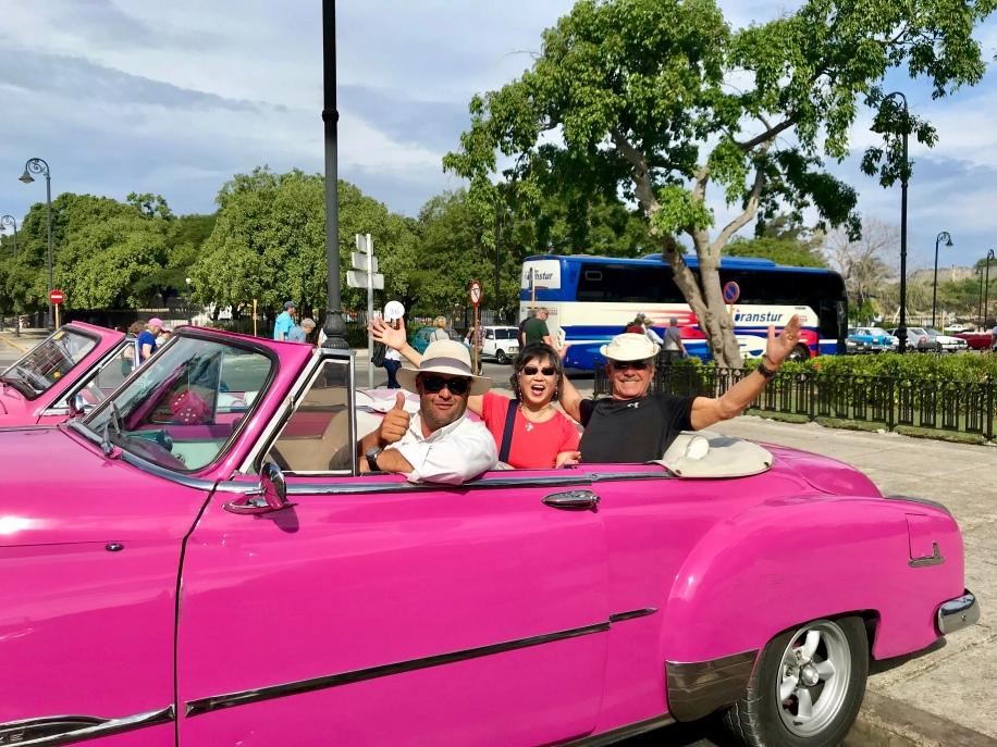 Bubblegum pink '57 Chevy